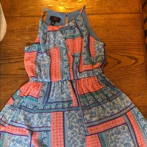 Dress with patterns